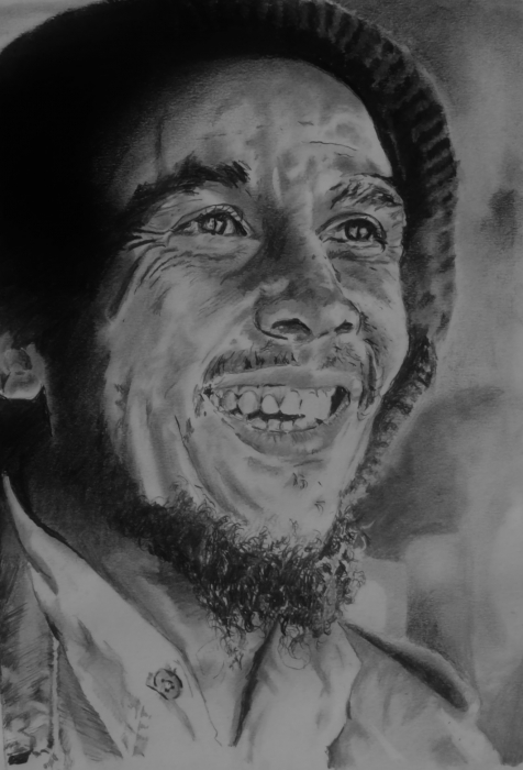 Bob Marley by jonesy12